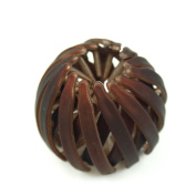 rougecaramel Hair Extension Pony Tail Accessory - Plain Brown