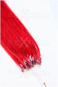 250 pcs 100% REMY HUMAN HAIR EXTENSIONS Micro Loop Hair Extensions 45 cm - Available in a Range of Colours and Free Accessories.