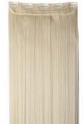 Peruvian Virgin 100% Human Hair One Piece Clip-In Hair Extension 46cm - Blond#613 - 70G