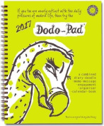 Dodo Pad Desk Diary 2017 - Calendar Year Week to View Diary