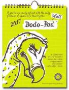 Dodo Wall Pad 2017 - Calendar Year Wall Hanging Week to View Calendar Organiser