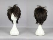 Women's Wig Cosplay Wig Brown 30 cm Shark Kyuu. Toru Oikawa