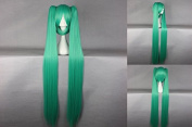 Ladie's Wig Vocaloid Lolita Style Cosplay Wig Green 130 cm