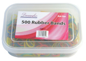 Dream Fix Rubber Band Hair Ties, Pack of 500 Various Colours