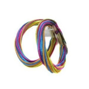 2 Large Elasticated Multi-Coloured