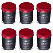 OSMO CLAY EXTREME MATT CLAY WAX 100ML X 6