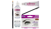 Julienne Eyelash Eyebrow Tinting Kit Dye Dark Brown Brush Tint Dish Oxidant