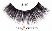 Red Cherry False Eyelashes (Pack of 10 pairs) (100) by YoneLay