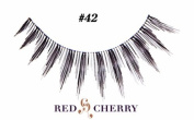 Red Cherry False Eyelashes (Pack of 10 pairs) (42) by YoneLay