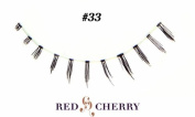 Red Cherry False Eyelashes (Pack of 10 pairs) (33) by YoneLay