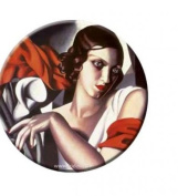 Pocket mirror Lempicka