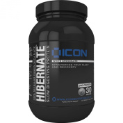 Hibernate Hot White Chocolate Casein Nightime Recovery (900g) 30 servings. by ICON Nutrition