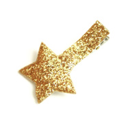 rougecaramel - - Star Hair Clip and Hair Accessories Small Glitter - Gold