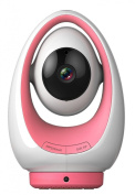 FosBaby P1 Baby Monitor Smartphone 720P IP Camera with Temperature and Humidity Sensor - Pink