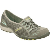 Women's Skechers Relaxed Fit Breathe Easy Good Life Grey/Blue