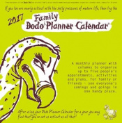 Dodo Family Planner Calendar 2017 - Month to View with 5 Daily Columns
