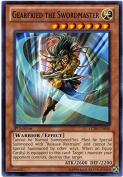 Yugioh LCJW-EN040 Gearfried the Swordmaster Common 1st Ed