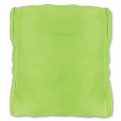 Foldable backpack cover - lime-green