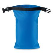 Waterproof small bag PVC - royal blue