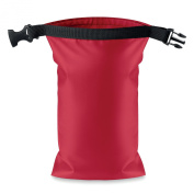 Waterproof small bag PVC - red