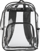 'Panorama' Backpack - Black/Clear
