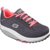 Women's Skechers Shape-ups 2.0 Charcoal/Coral