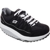 Women's Skechers Shape-ups 2.0 Comfort Stride Black/Silver