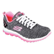 Women's Skechers Skech-Air 2.0 Lace Up Sweet Life/Black/Hot Pink