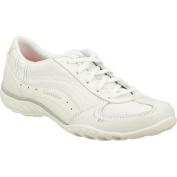 Women's Skechers Relaxed Fit Breathe Easy Just Relax White
