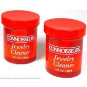 2 Jars of Connoisseurs Jewellery Cleaner 120ml