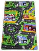 Playmat Road Map for Children 120 x 80 cm Design Selected at Random
