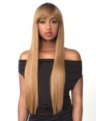 LOVE (#1B OFF BLACK) - THE WIG 100% BRAZILIAN HUMAN HAIR BLEND WIG