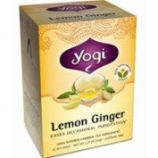 Yogi Lemon Ginger Tea, 16 bags, 40ml (36 g)