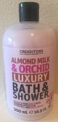 Creightons Almond Milk & Orchid Luxury Bath & Shower Gel Wash, 500ml
