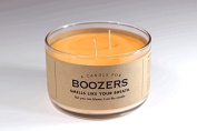 A Candle for Boozers 500ml by Whiskey River Soap Co.