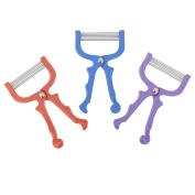 Safe Handheld Face Facial Hair Removal Threading Facial Epilator Roller