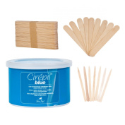 Cirepil Blue Tin Kit (410ml), includes 100 X-Small and 60 Large Applicator Sticks