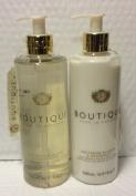 Boutique Nectarine Blossom & Grapefruit Hand Wash 500ml and Softening Hand & Nail Cream 500ml