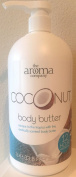 Creightons The Aroma Company Body Butter, Coconut, 1000ml Pump