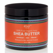 Elixir Naturel Best Organic Ivory Shea Butter - 100% Natural Pure Grade A Unrefined Raw - Great Moisturiser for Skin & Hair - Excellent for DIY Products
