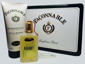 Faconnable By Faconnable for Men. Eau De Toilette Spray 50ml. 1.7 Fl.oz Metal Tin Can Gift Set