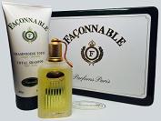 Faconnable By Faconnable for Men. Eau De Toilette Spray 50ml. 1.7 Fl.oz Metal Tin Can Gift Set