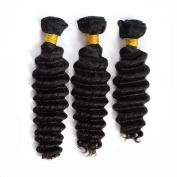 Iloveihair Deep Wave 3 Bundles 100% Authentic Virgin Indian Human Hair Extensions 30cm --60cm