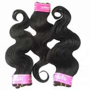 King Love Star Hair Products Unprocessed 4A Human Hair Brazilian Virgin Hair Body Wave Weave 5 Packs 60cm a Lot 250g Brazilian Body Wave 50g/bundle