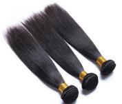 Iloveihair 7a Quality 100% Virgin Peruian Human Hair Extension Silky Straight 30cm --60cm 3pcs