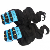 King Love Star Human Hair Brazilian Virgin Hair 4A Grade Unprocessed Virgin Brazilian Hair 6 Packs 46cm 46cm 46cm 50cm 50cm 50cm Brazilian Body Wave,300g