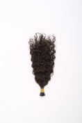 Imstyle Brazilian Virgin Hair Natural Black Curly Fusion Hair I Tip Hair Extensions