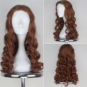 Miss U Hair Alice Wig Women Girl Long Brown Curly Movie Cosplay Wig