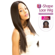 New Born Free Human Hair Blend Lace Front Wig Magic Lace U-Shape Lace Wig MLUH91