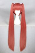2 Clip Lolita Ponytails Long Women Girl's Halloween Costume Cosplay Wigs
